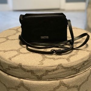Kenneth Cole Reaction small black crossbody purse